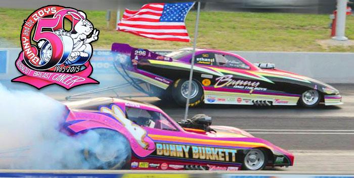 bunny burkett funny cars